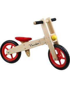Base Toys Houten Loopfiets Nummer 1