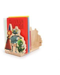 Small Foot Ridder - Boekensteun - Licht Bruin - Hout