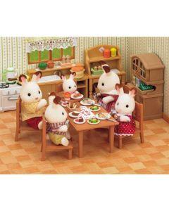 Sylvanian Families Eettafel Set