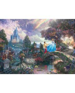 Disney Cinderella, 1000 pcs Legpuzzel