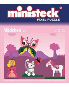 Ministeck: Pixel Puzzel - Prinses