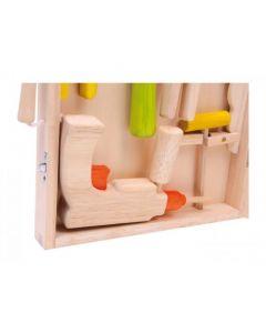 Base Toys Houten Gereedschapskist Lino