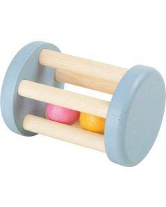 Rammelaar met houten balletjes