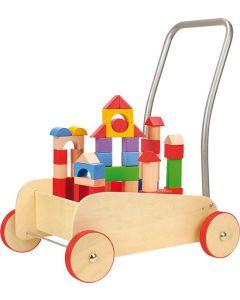 Loopwagen bouwstenen