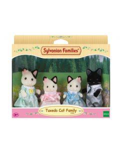 Sylvanian Families Tuxedo Katten Familie